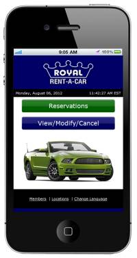 Company News: Royal Rent-A-Car Has Gone Mobile!